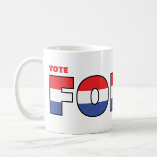 Vote Foley 2010 Elections Red White and Blue Coffee Mug
