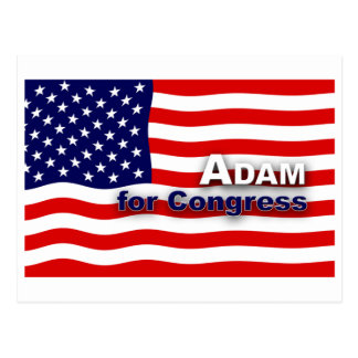 Vote for a better Congress! Postcard