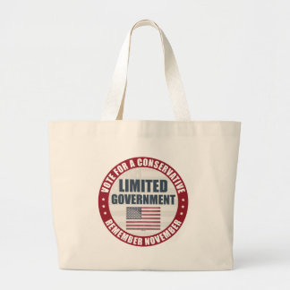 Vote For A Conservative Canvas Bag