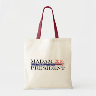 Vote for a Madam President in 2016 Tote Bag