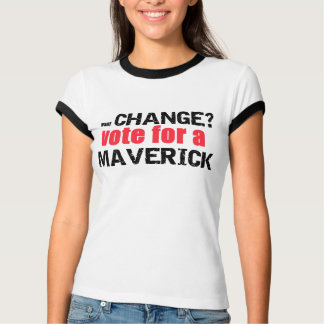 Vote for a Maverick Women's Ringer Tee
