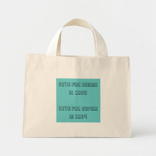 vote for... canvas bag