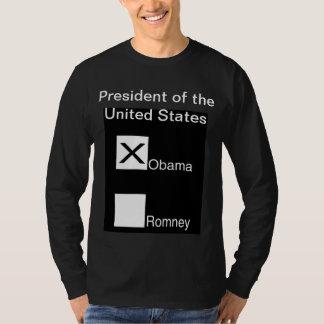 Vote for Barack Obama for US President T-Shirt