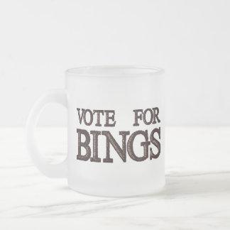 Vote For BINGS Coffee Mug