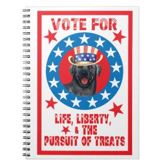 Vote for Black Lab Notebook