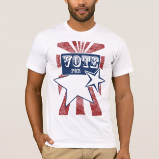 Vote For Blank T-Shirt