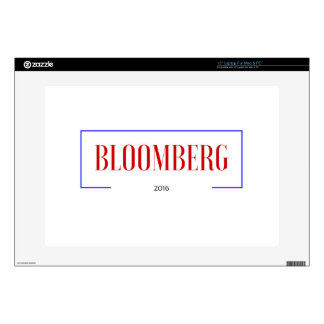 "Vote for Bloomberg in 2016 Decals For 15"" Laptops"