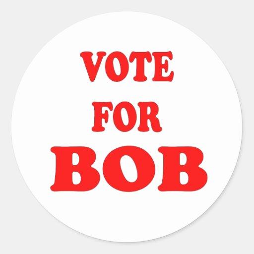 Vote For Bob -  Bob Katter, Australian Politician Stickers