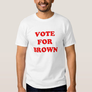 Vote for Brown T-shirt
