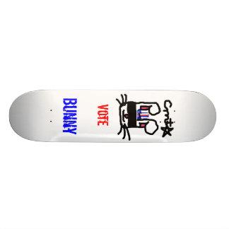 Vote For Bunny Skateboard