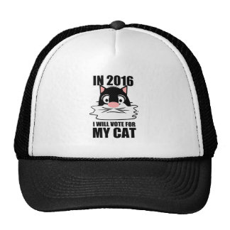 VOTE FOR CATS.png Trucker Hat