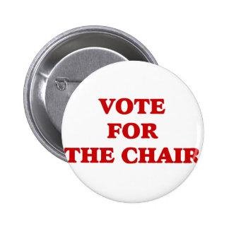 Vote For Chair Invisible Obama 2 Inch Round Button