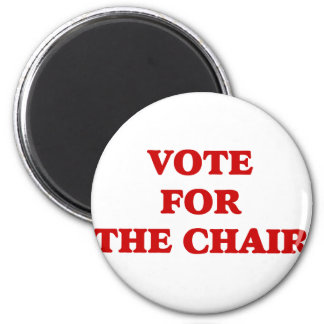 Vote For Chair Invisible Obama Refrigerator Magnet