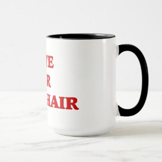 Vote For Chair Invisible Obama Mug