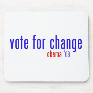 vote for change mouse pad