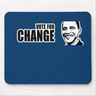 Vote for change Obama Bumper 5 copy.png Mouse Pad
