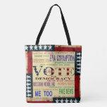 Vote For Democracy Tote Bag