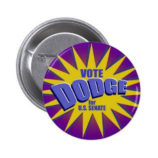Vote For Dodge Button