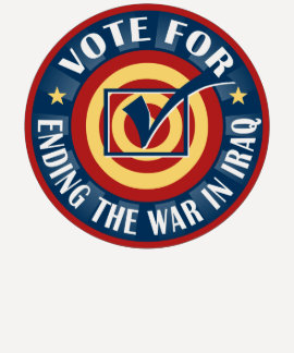 Vote for Ending the War in Iraq T-Shirt