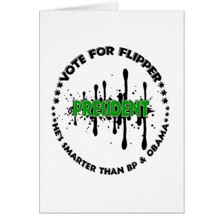 VOTE FOR FLIPPER CARD