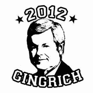 VOTE FOR GINGRICH 2012 PHOTO CUT OUTS