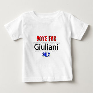 Vote for Giuliani in 2012 Baby T-Shirt
