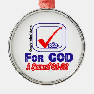 Vote For God (1 Samuel 8:1-22) Ornament