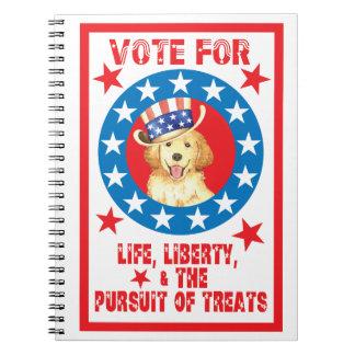 Vote for Golden Notebook