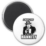 Vote for Hannity Fridge Magnet