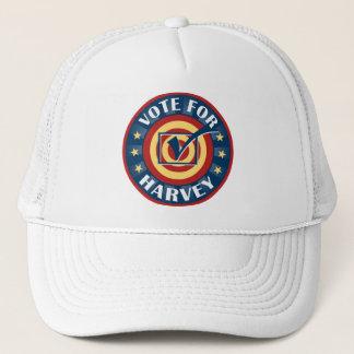 Vote for Harvey First Name Baseball Cap