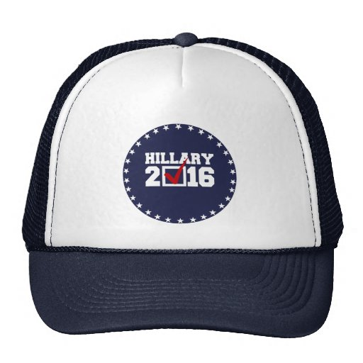 VOTE FOR HILLARY 2016 MESH HAT