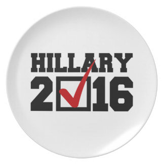 VOTE FOR HILLARY 2016 PLATES