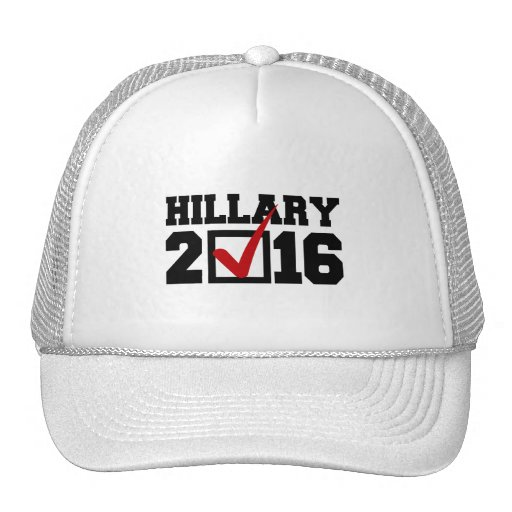 VOTE FOR HILLARY 2016.png Trucker Hat