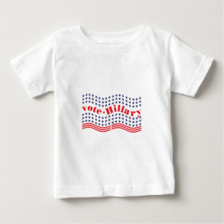 vote for hillary baby T-Shirt