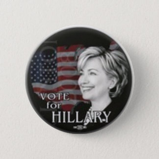 vote for hillary button