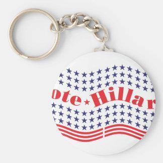 vote for hillary keychain
