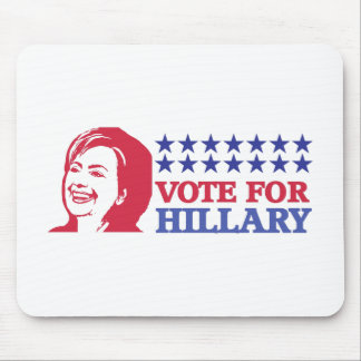 vote for hillary mouse pad