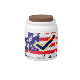 Vote for Hillary USA Stronger Together  My Preside Candy Dish