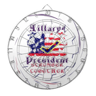 Vote for Hillary USA Stronger Together  My Preside Dartboard