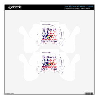 Vote for Hillary USA Stronger Together  My Preside Decal For PS3 Controller