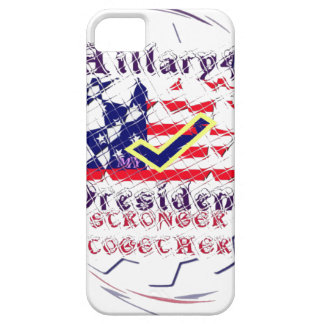 Vote for Hillary USA Stronger Together  My Preside iPhone SE/5/5s Case