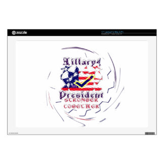 Vote for Hillary USA Stronger Together  My Preside Laptop Skins