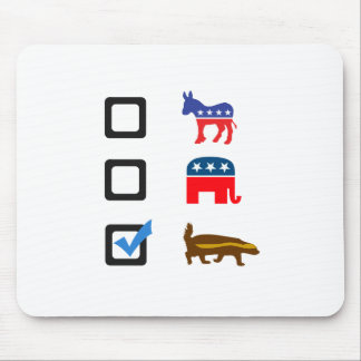 Vote for Honey Badger Mouse Pad