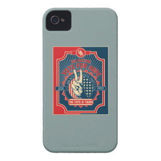 Vote for Hope iPhone 4 Cover