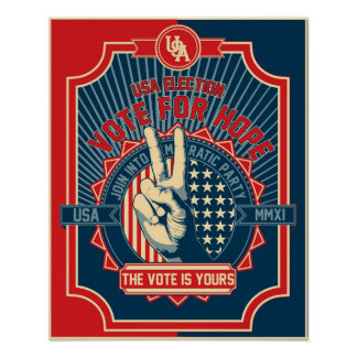 Vote for Hope Poster