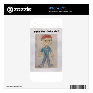 Vote for Jake Jr Decals For The iPhone 4
