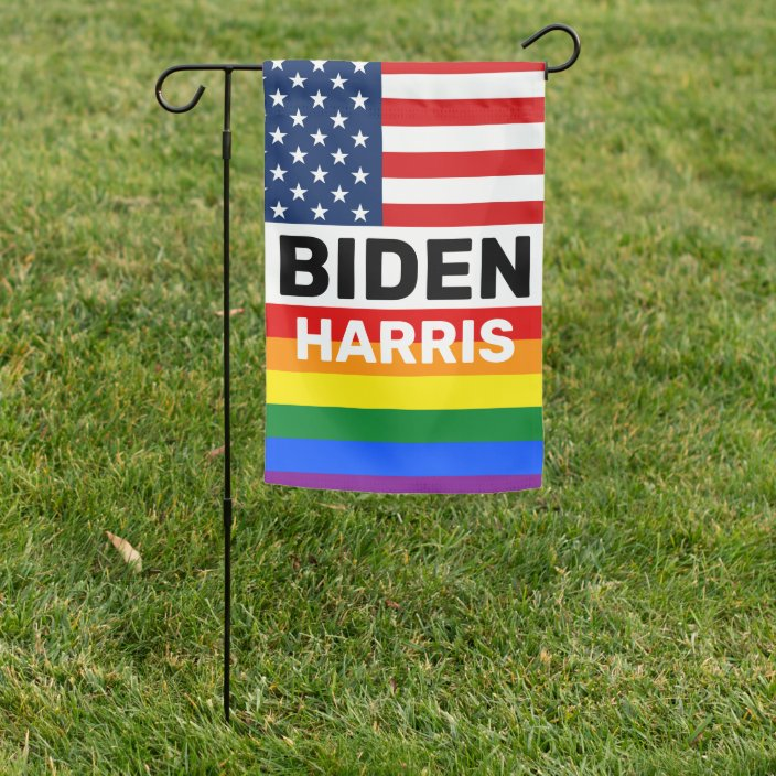 Vote For Joe Biden Kamala Harris 2020 Garden Flag Zazzle Com