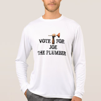 """VOTE FOR JOE THE PLUMBER"" T-Shirt"