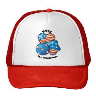 Vote for Jon Huntsman Trucker Hat