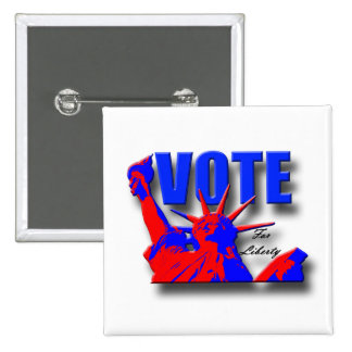 Vote for Liberty Button